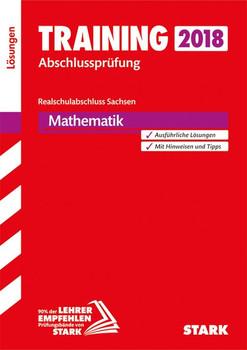 Lösungen zu Training Abschlussprüfung Realschulabschluss - Mathematik - Sachsen [Taschenbuch]