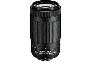 Nikon AF-P DX NIKKOR 70-300 mm F4.5-6.3 ED G 58 mm Objetivo (Montura Nikon F) negro