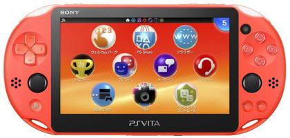 Sony PlayStation Vita Slim [WiFi, Importazione Giappone] neon arancione