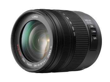 Panasonic Lumix G VARIO 14-140 mm F 4.0-5.8 HD 62 mm Obiettivo (compatible con Micro Four Thirds) nero