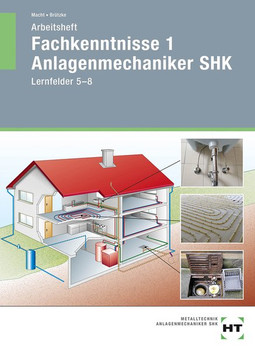 Arbeitsheft Fachkenntnisse 1 Anlagenmechaniker SHK. Lernfelder 5--8 - Harald Macht  [Taschenbuch]