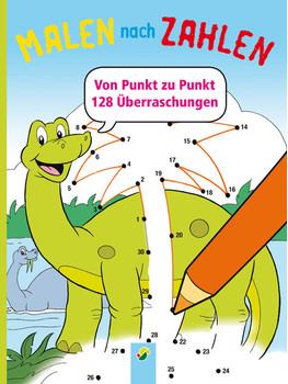 Malen Nach Zahlen Dinosaurier Von Punkt Zu Punkt 128 überraschungen