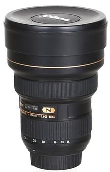 Nikon AF-S NIKKOR 14-24 mm F2.8 ED G IF (adapté à Nikon F) noir