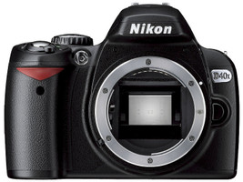 Nikon D40x Cuerpo negro