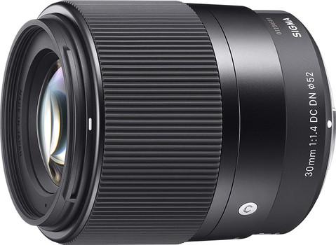 Sigma C 30 mm F1.4 DC DN 52 mm filter (geschikt voor Sony E-mount) zwart
