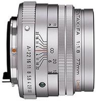Pentax smc FA 77 mm F1.8 49 mm Obiettivo (compatible con Pentax K) argento [Edizione limitata]