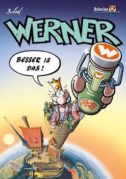 WERNER - BESSER IS DAS ! - Brösel  [Taschenbuch]