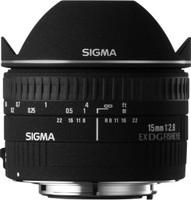 Sigma 15 mm F2.8 DG EX Diagonal-Fisheye (Montura Canon EF) negro