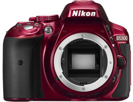 Nikon D5300 SLR-Digitale camera rouge