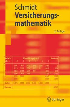 Versicherungsmathematik - Klaus D. Schmidt