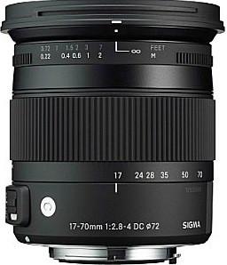 Sigma C 17-70 mm F2.8-4.0 DC HSM OS Macro 72 mm Obiettivo (compatible con Nikon F) nero