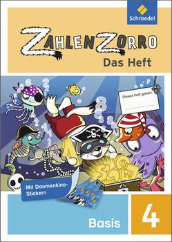 Zahlenzorro - Das Heft: Basisheft 4 - Klöckner, Katrin