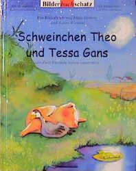 Schweinchen Theo und Tessa Gans - Helga Henning