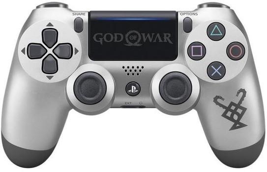 Sony PS4 DualShock 4 Wireless Controller silber schwarz [Limited God of War Edition, Version 2]