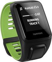TomTom Runner 3 Cardio + Music (bracelet large) noir/vert