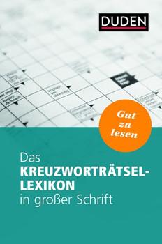 Das Kreuzworträtsel-Lexikon in großer Schrift [Taschenbuch]