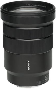 Sony E 18-105 mm F4.0 G OSS PZ 72 mm filter (geschikt voor Sony E-mount) zwart