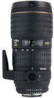 Sigma 70-200 mm F2.8 APO DG EX HSM 77 mm Objetivo (Montura Nikon F) negro