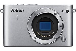 Nikon 1 J3 Cámara compacta Cuerpo plata
