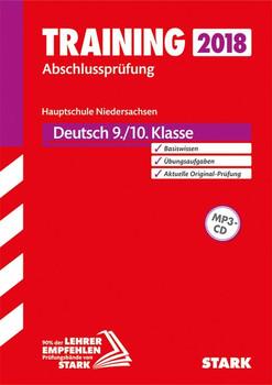 Training Abschlussprüfung Hauptschule Niedersachsen - Deutsch 9./10. Klasse, mit CD [Taschenbuch]