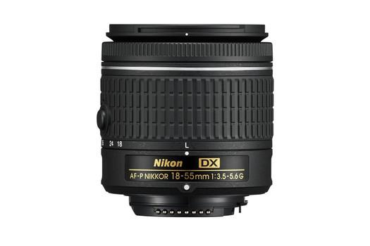 Nikon AF-P DX NIKKOR 18-55 mm F3.5-5.6 G 55 mm filter (geschikt voor Nikon F) zwart