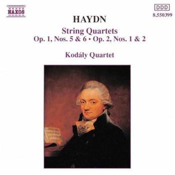 Kodaly-Quartett - Haydn: Streichquartette Op. 1,0,6,2