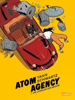 Atom Agency 1: Der Anfang - Yann  [Taschenbuch]
