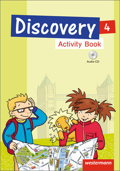 Discovery 3 - 4: Ausgabe 2013: Activity Book 4 mit Audio-CD