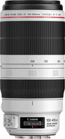 Canon EF 100-400 mm F4.5-5.6 IS L USM II 77 mm Objetivo (Montura Canon EF) blanco