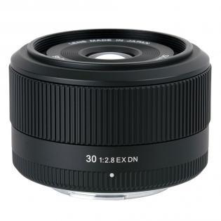 Sigma 30 mm F2.8 DN EX 46 mm Obiettivo (compatible con Sony E-mount) nero