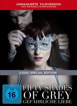 Fifty Shades of Grey - Gefährliche Liebe [Unmaskierte Filmversion, Special Edition, 2 DVDs, Exklusivprodukt]