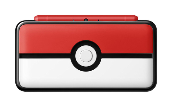 New Nintendo 2DS XL [Pokemon edition] roodwit