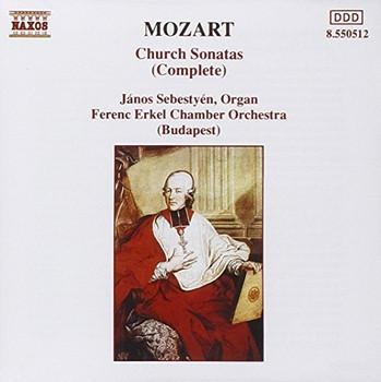 Sebestyen - Mozart: Kirchensonaten