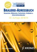BRAUEREI-ADRESSBUCH 2018/2019. Brauereien, Mälzereien, Fachschulen, Verbände und Unternehmensberater [Taschenbuch]