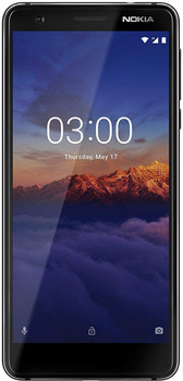 Nokia 3.1 Dual SIM 16GB nero cromato