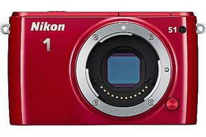 Nikon 1 S1 Caméra System rouge