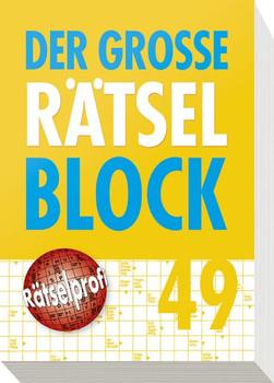 Der große Rätselblock 49 [Taschenbuch]
