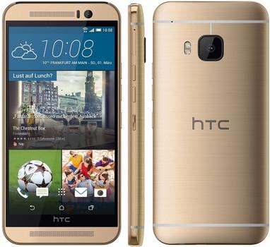 HTC One M9 32GB goud op goud
