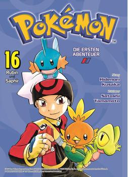 Pokémon - Die ersten Abenteuer. Bd. 16: Rubin und Saphir - Hidenori Kusaka  [Taschenbuch]