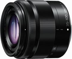 Panasonic Lumix G VARIO 35-100 mm F4.0-5.6 ASPH. O.I.S. 46 mm filter (geschikt voor Micro Four Thirds) zwart