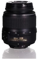 Nikon AF-S DX NIKKOR 18-55mm F3.5-5.6 ED G II 52 mm Objectif (adapté à Nikon F) noir