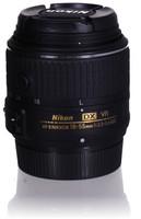 Nikon AF-S DX NIKKOR 18-55 mm F3.5-5.6 G VR II 52 mm Objectif (adapté à Nikon F) noir