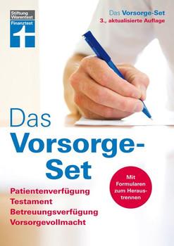 Das Vorsorge-Set. Patientenverfügung, Testament, Betreuungsverfügung, Vorsorgevollmacht [Taschenbuch]
