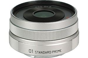 Pentax 8,5 mm F1.9 40,5 mm Objetivo (Montura Pentax Q) plata