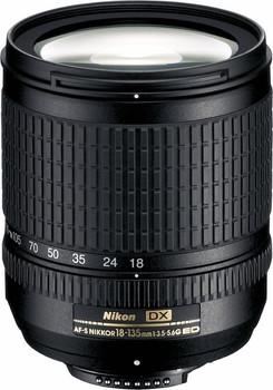 Nikon AF-S DX NIKKOR 18-135 mm F3.5-5.6 ED G IF 67 mm filter (geschikt voor Nikon F) zwart