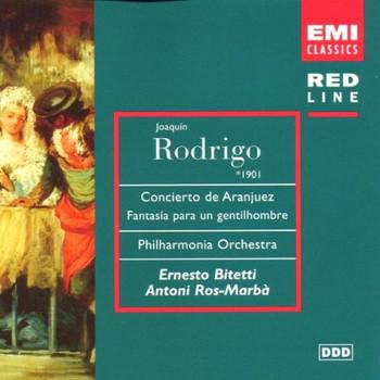 Bitetti - Red Line - Rodrigo (Werke für Gitarre)