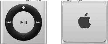 Apple iPod shuffle 4G 2GB argento [2015]