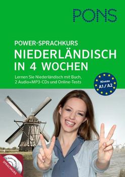 PONS Power-Sprachkurs: Niederländisch in 4 Wochen - Martine Reijnders [Taschenbuch, inkl. 2 Mp3-CDs]