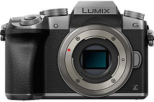 Panasonic Lumix DMC-G70 zilver