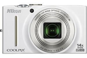 Nikon Coolpix S8200 blanco